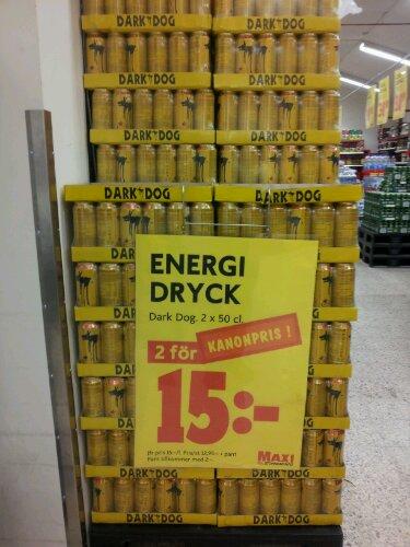 taurin i energidryck